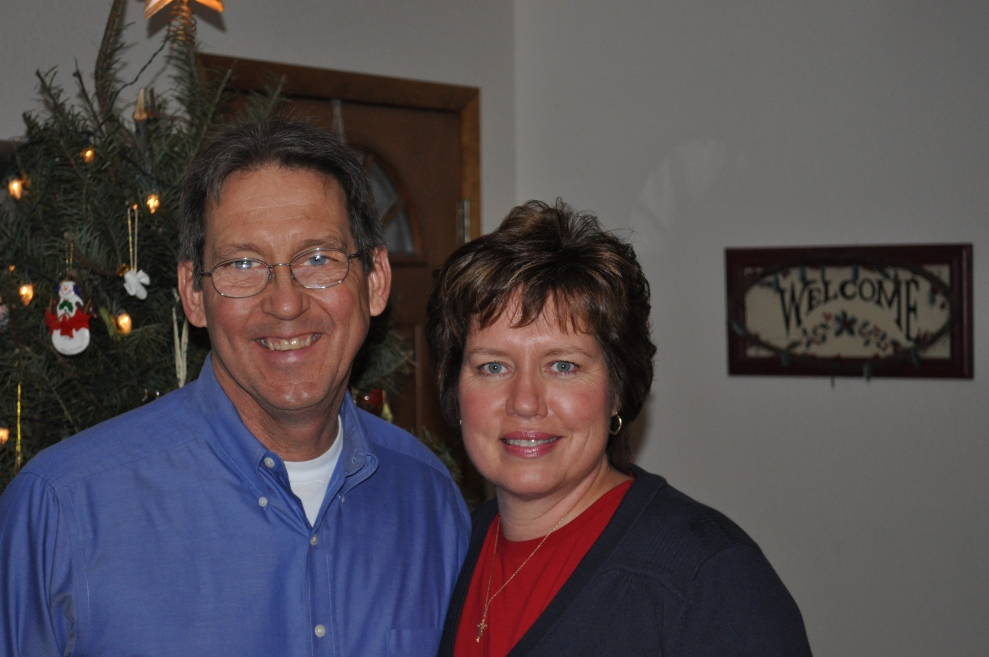 Val and Bill Christoph