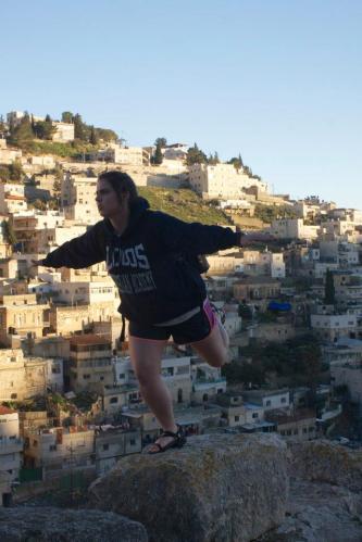 Emily in Israel