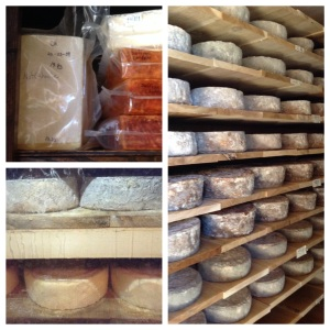 Gold Creek Cheese-Aging