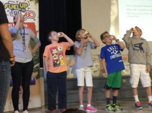 Edgemont Elementary and BYU Breakfast Assembly