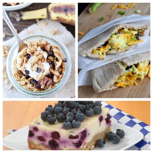 Great, healthy breakfast options