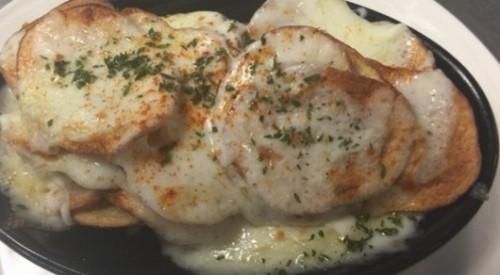 Potato and cheese gratin