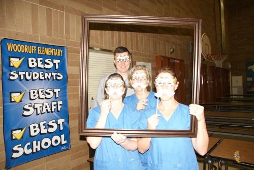 Staff at Woodruff Elementary