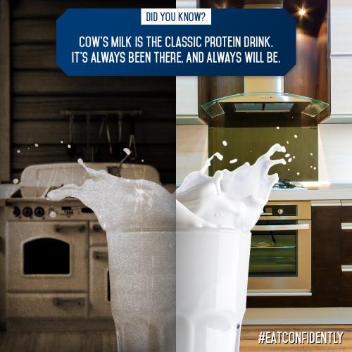 Milk is Protein Rich