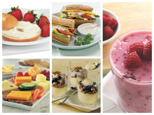 Dairy Foods Collage