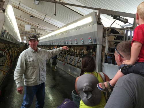 Dairy Days Farm Tour - Milk Barn