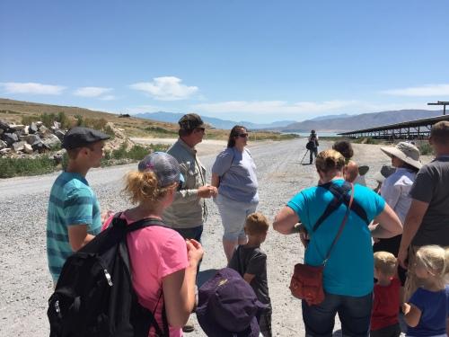 Dairy Days Farm Tour - talking to farmers