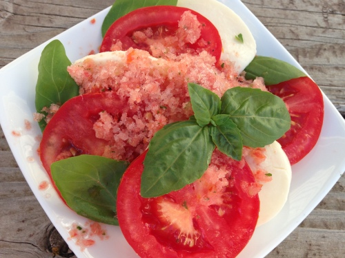 Tomato Granita
